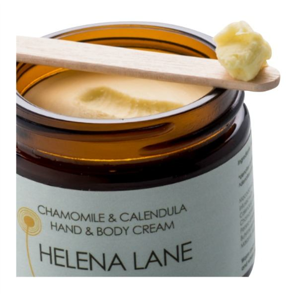 Chamomile & Caledula Hand & Body Cream Detail