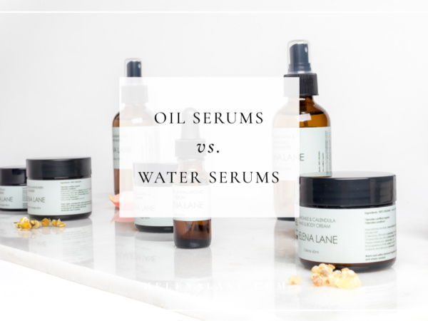 oil serum water serum