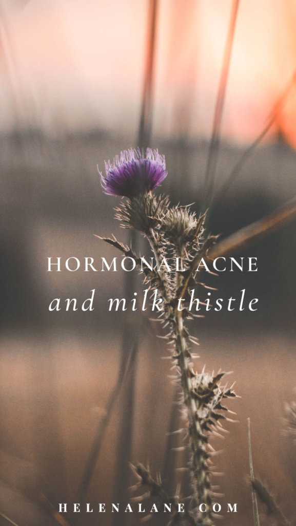Milk Thistle and Hormonal Acne