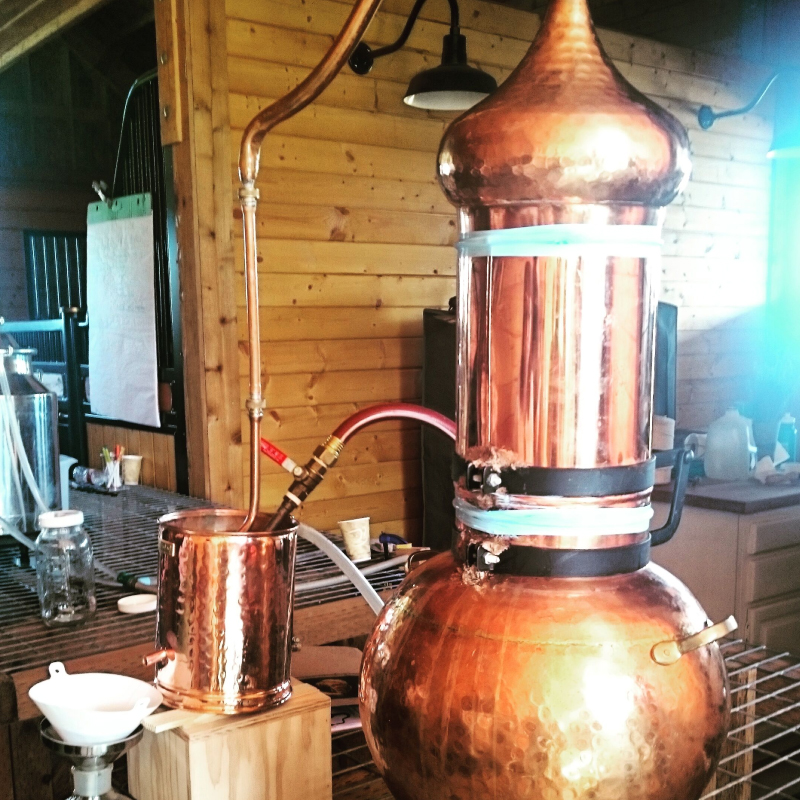 Alembic Copper Still