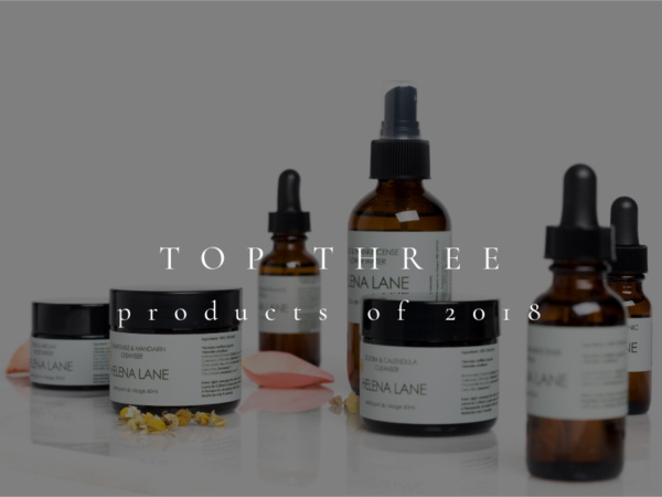 Top Natural Skincare Products 2018
