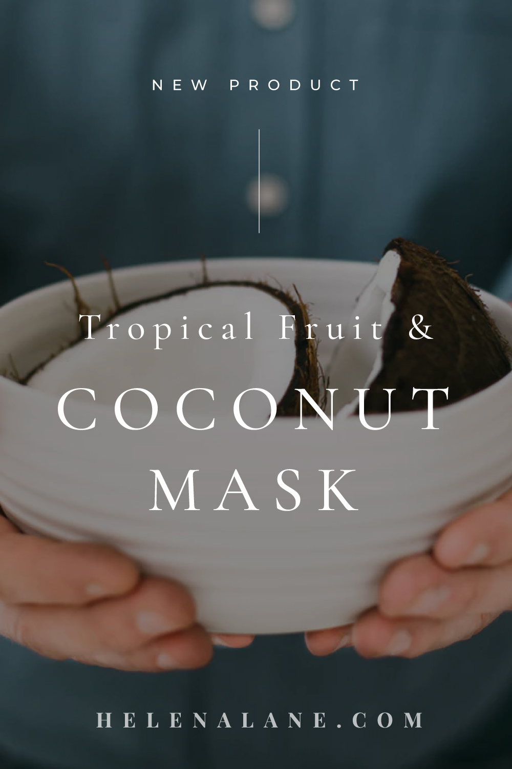 Tropical Fruit Coconut Mask by Helena Lane Organic Skincare