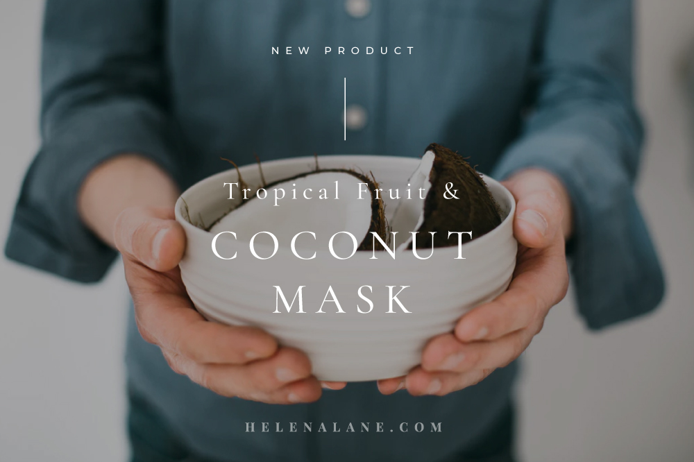 Tropical Fruit Coconut mask