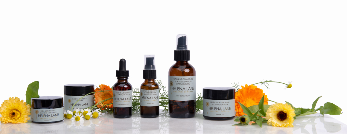 Calming Organic Skincare by Helena Lane