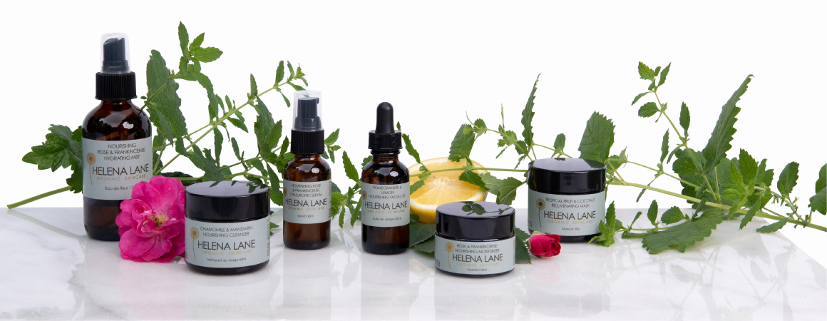 Nourishing Organic Skincare Collection by Helena Lane
