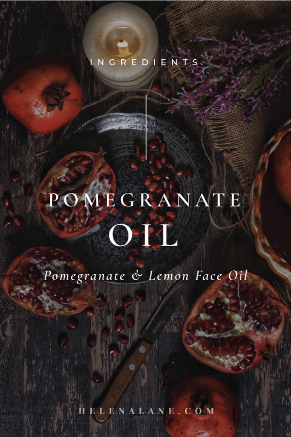 Pomegranate Oil for your skin