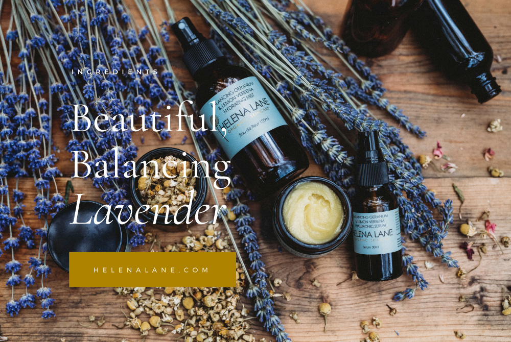 Lavender to Balance your Skin